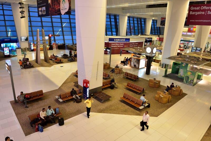 Indira Gandhi International Airport stockbild
