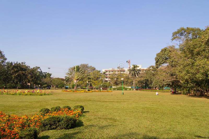 Indira Gandhi park in Bhubaneshwar. Indira Gandhi park in central part of Bhubaneshwar, Orissa, India royalty free stock image