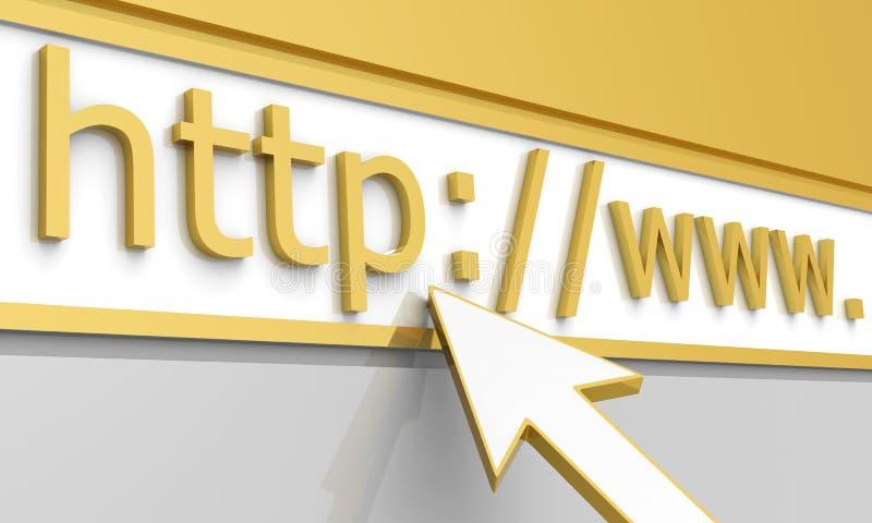 Indirizzo di Web royalty illustrazione gratis