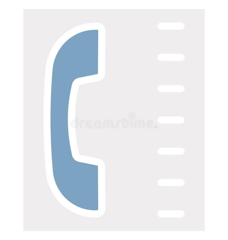 Indirizzo, icona isolata di vettore che può modificare o pubblicare facilmente royalty illustrazione gratis
