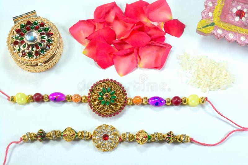Indisch festival Raksha Bandhan stock foto's
