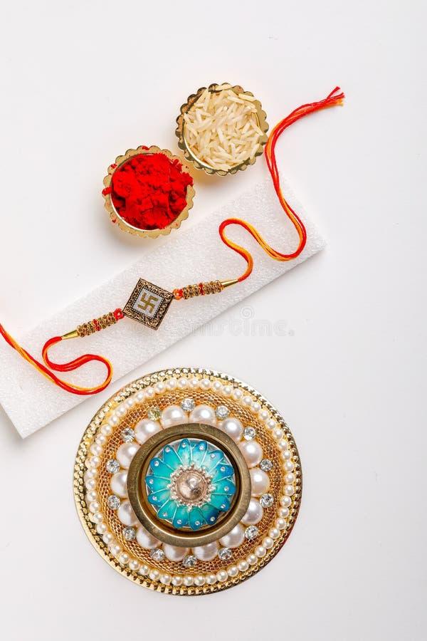 Indisch festival Raksha Bandhan stock fotografie