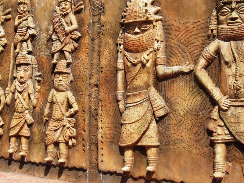 Indisch fijn art. stock afbeeldingen