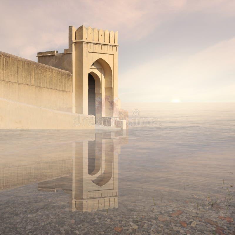 Indisch fort royalty-vrije stock afbeelding