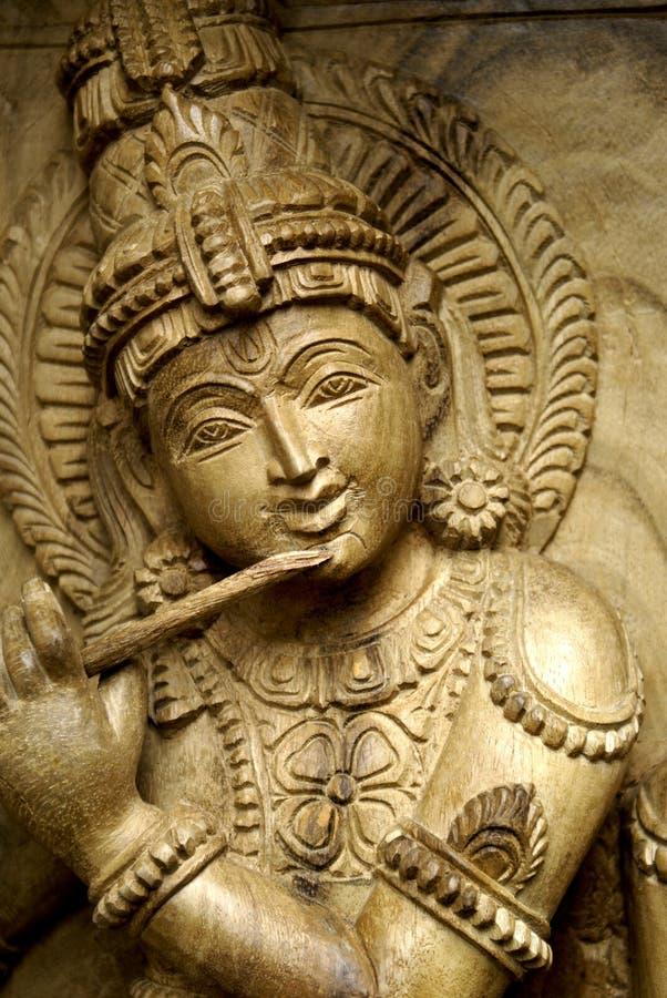 Indisch houtsnijwerk royalty-vrije stock foto's