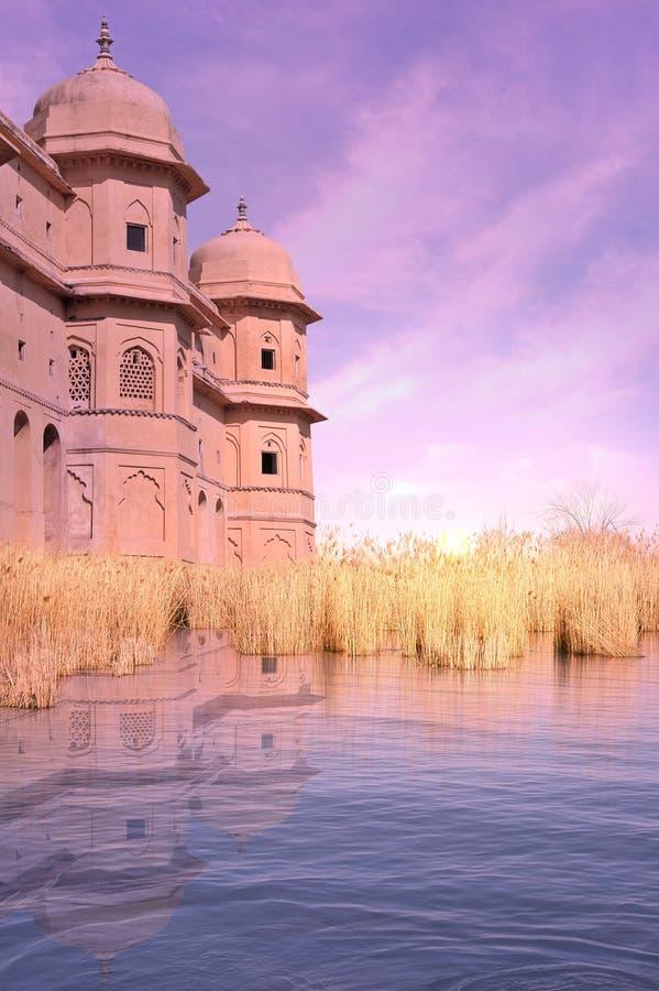 Indisch kasteel royalty-vrije stock afbeelding
