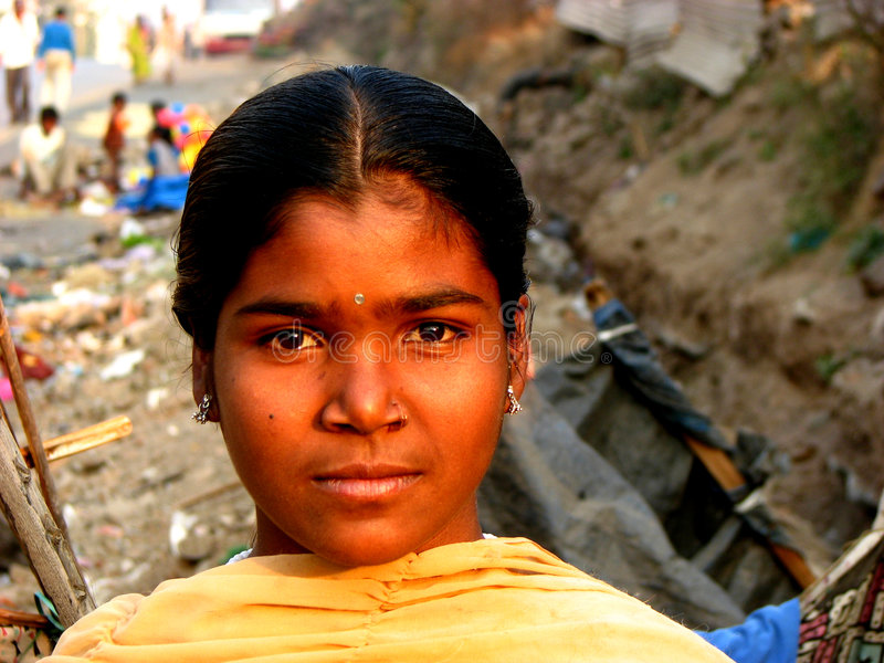 Indisch Kind royalty-vrije stock afbeelding