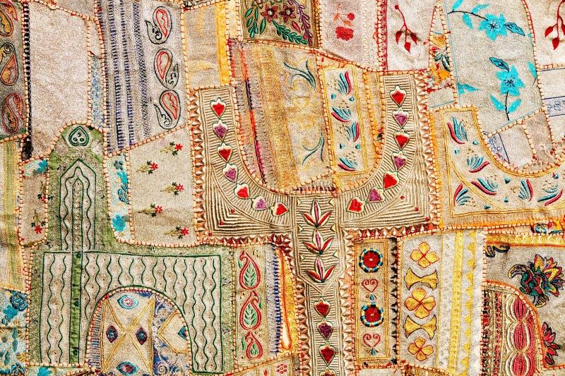 Indisch lapwerktapijt stock fotografie