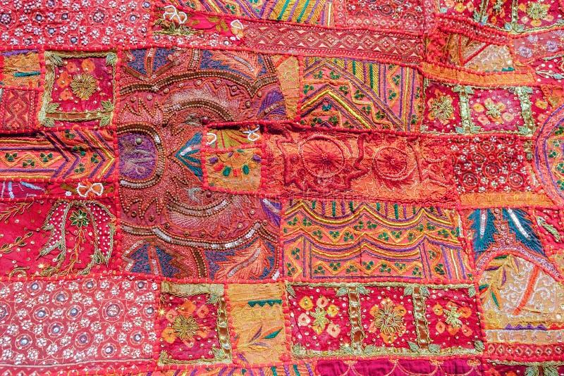 Indisch lapwerktapijt royalty-vrije stock afbeeldingen