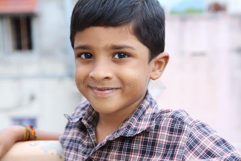 Indisch Leuk Little Boy royalty-vrije stock foto's