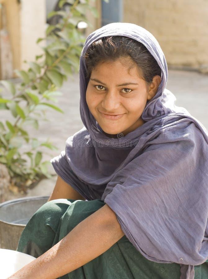 Indisch Meisje royalty-vrije stock afbeeldingen