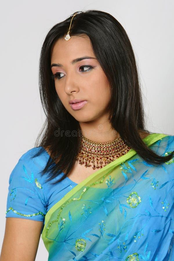 Indisch meisje stock afbeeldingen