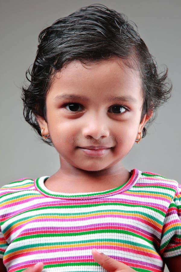 Indisch meisjeskind royalty-vrije stock foto's