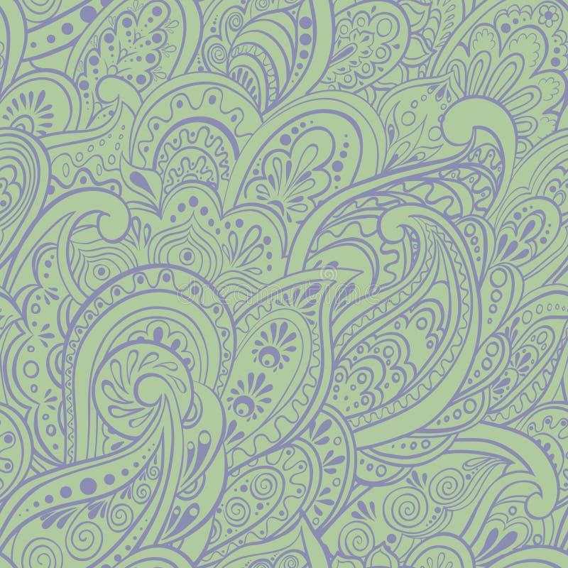 Indisch naadloos patroon vector illustratie