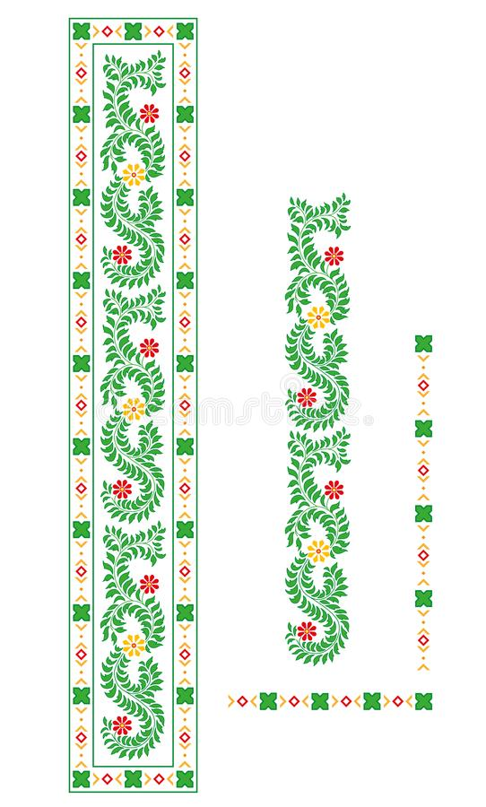 Indisch ornament royalty-vrije illustratie
