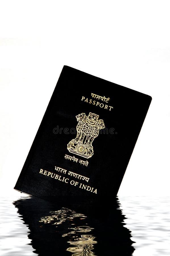Indisch Paspoort stock fotografie