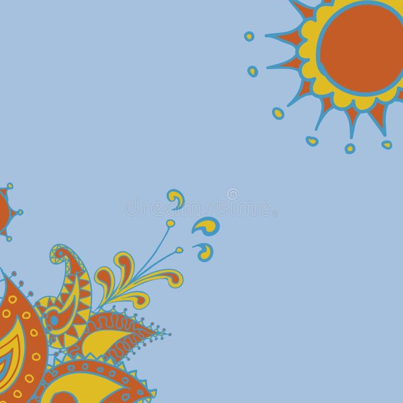 Download Indisch patroon vector illustratie. Illustratie bestaande uit patroon - 29506450