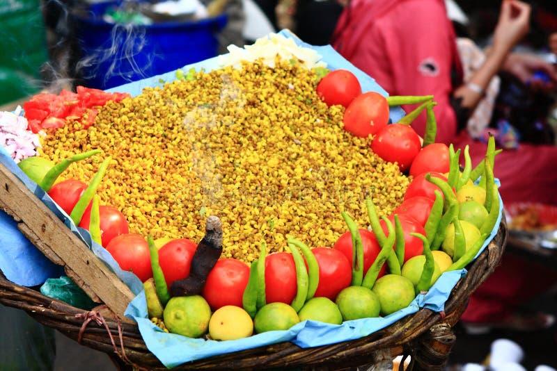 Indisch Plechtig Voedsel royalty-vrije stock afbeelding