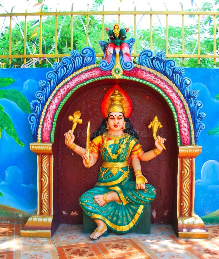 Indisch standbeeld stock afbeeldingen