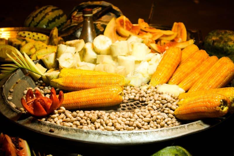 Indisch straatvoedsel stock afbeelding