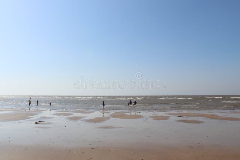 Indisch Strand stock afbeeldingen