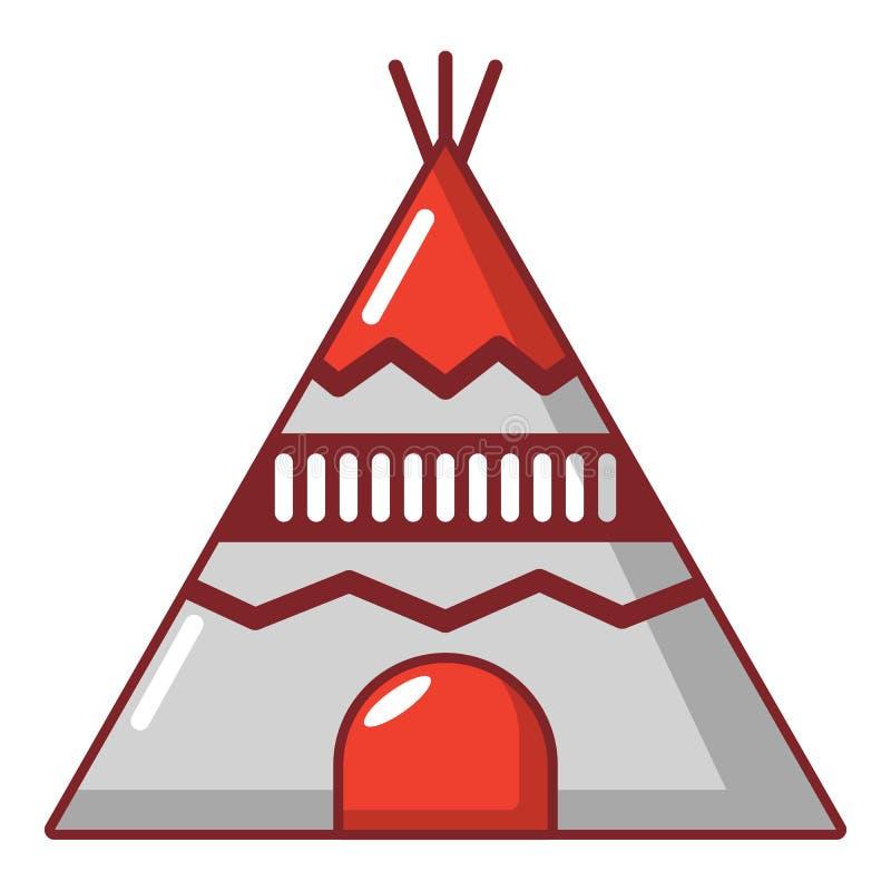 Download Indisch Tentpictogram, Beeldverhaalstijl Vector Illustratie - Illustratie bestaande uit pictogram, ontwerp: 107708229