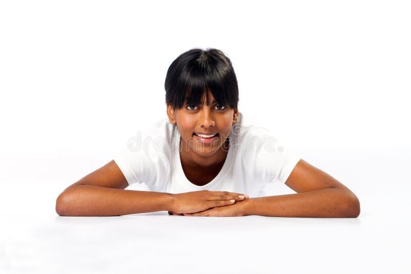 Indisch tienermeisje royalty-vrije stock fotografie
