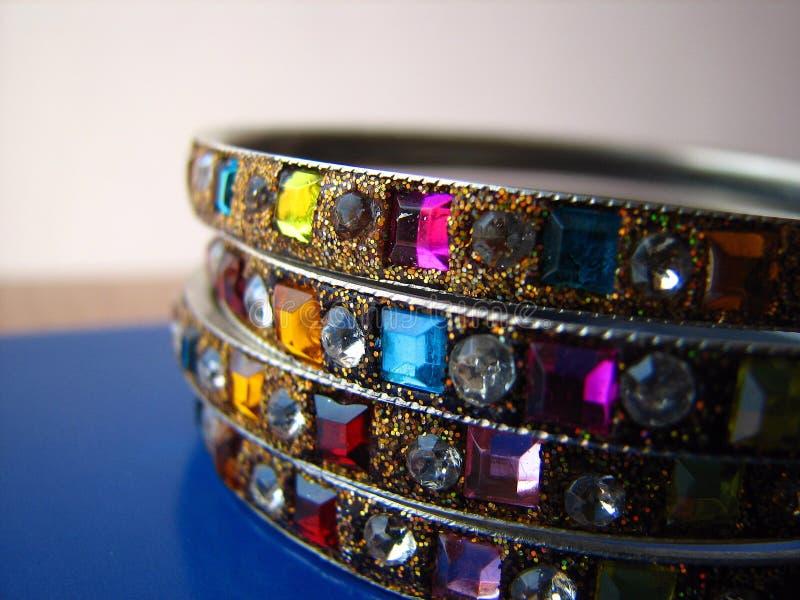 Indische Armbanden royalty-vrije stock afbeelding