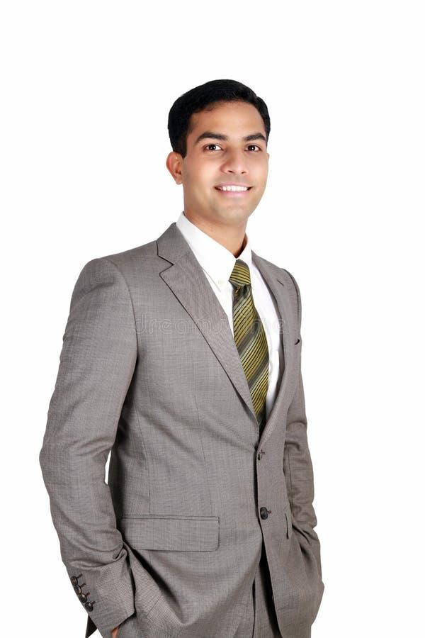 Indische bedrijfsmens. stock foto's
