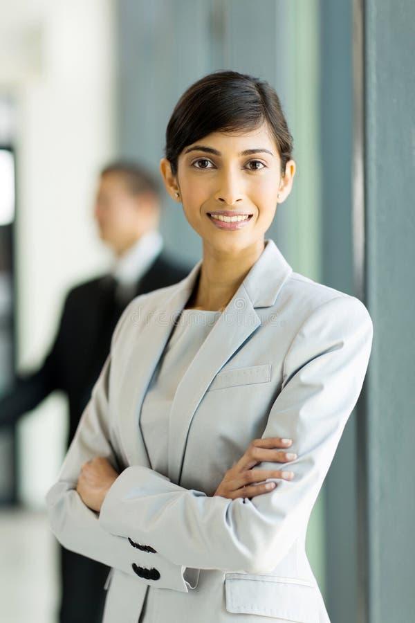 Indische bedrijfsvrouw stock fotografie