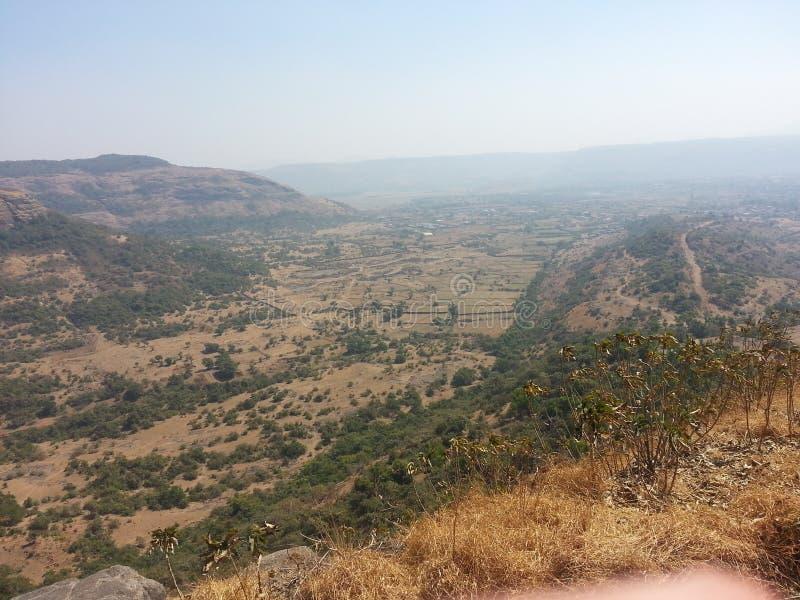 Indische Berg royalty-vrije stock foto