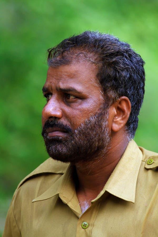 Indische boswacht royalty-vrije stock afbeelding