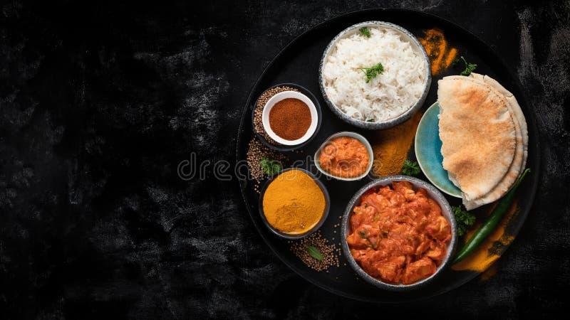 Indische BoterKip stock fotografie