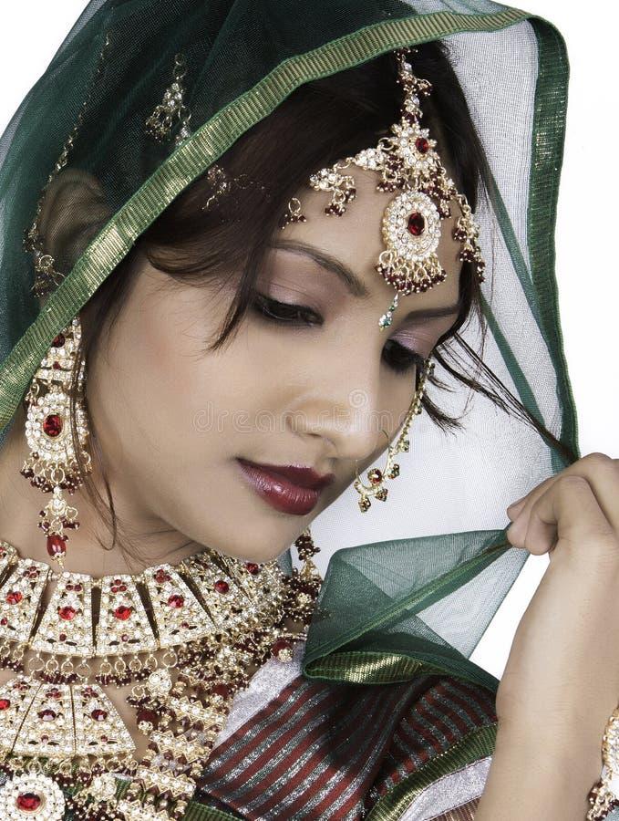 Indische Braut stockbilder