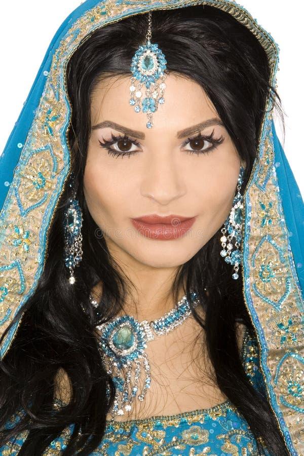 Indische Braut lizenzfreie stockfotos