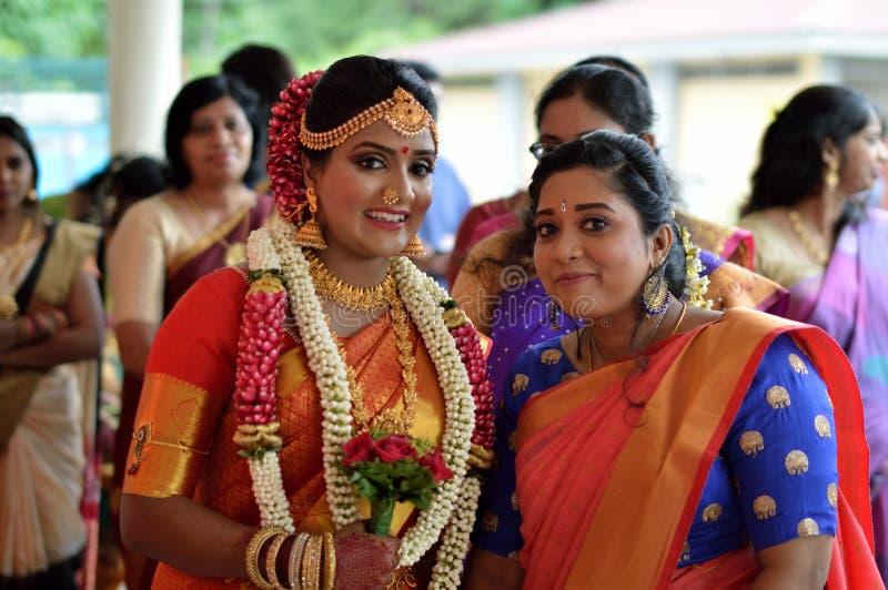 Indische Braut stockfotografie