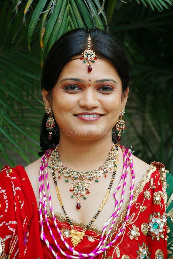 Indische Bruid stock afbeeldingen