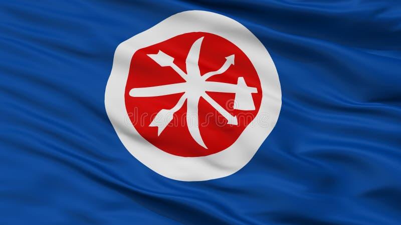 Indische de Vlagclose-up van de Choctawbrigade royalty-vrije illustratie