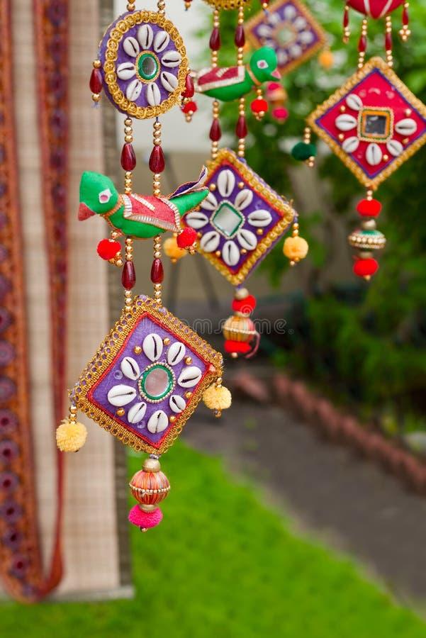 Indische Dekoration stockfoto