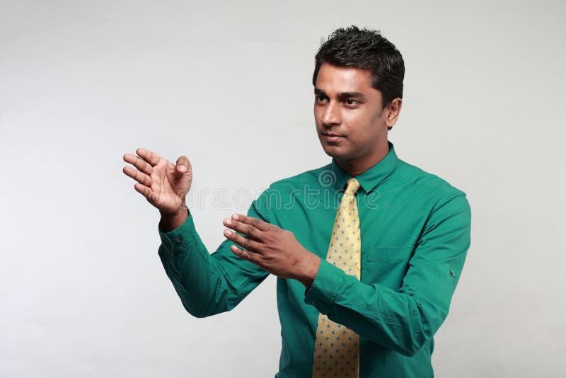 Indische Directeur stock afbeeldingen