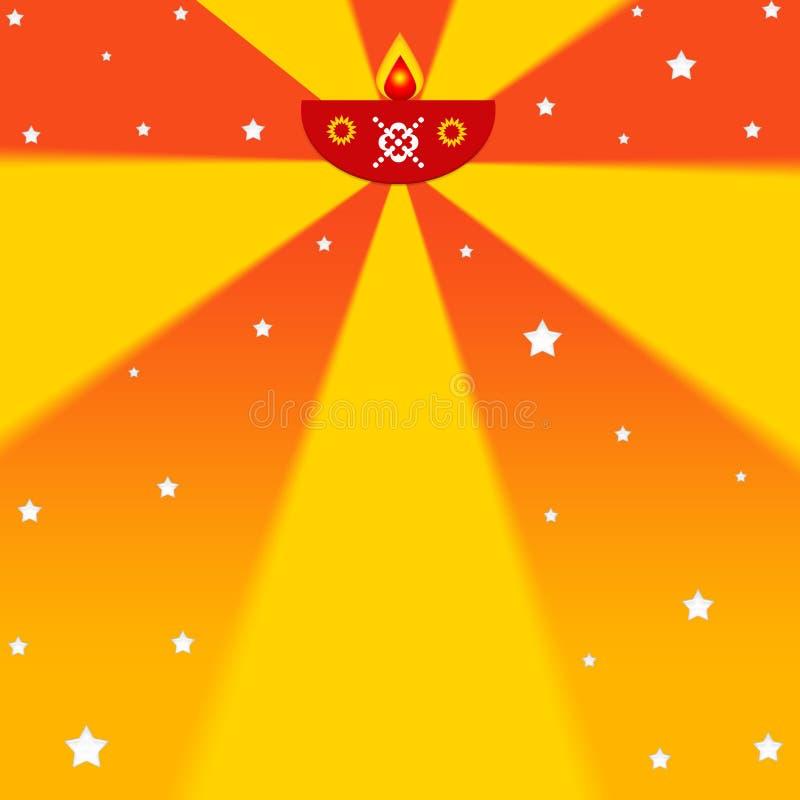Indische diwali Festivalauslegung