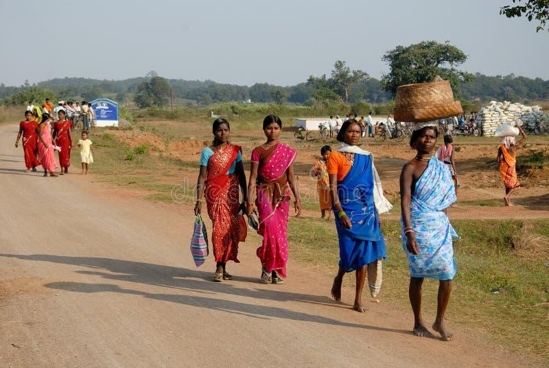 Indische Dorf-Lebensdauer lizenzfreie stockbilder