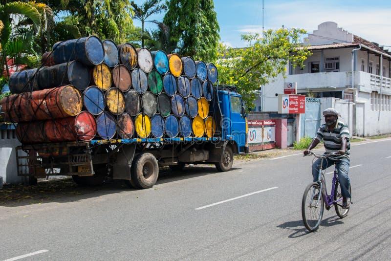 Indische fiets royalty-vrije stock foto