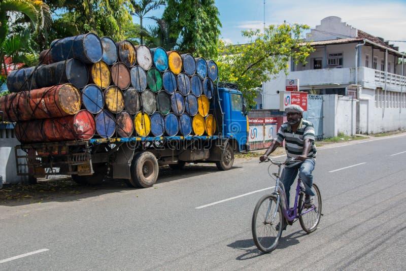 Indische fiets royalty-vrije stock afbeelding