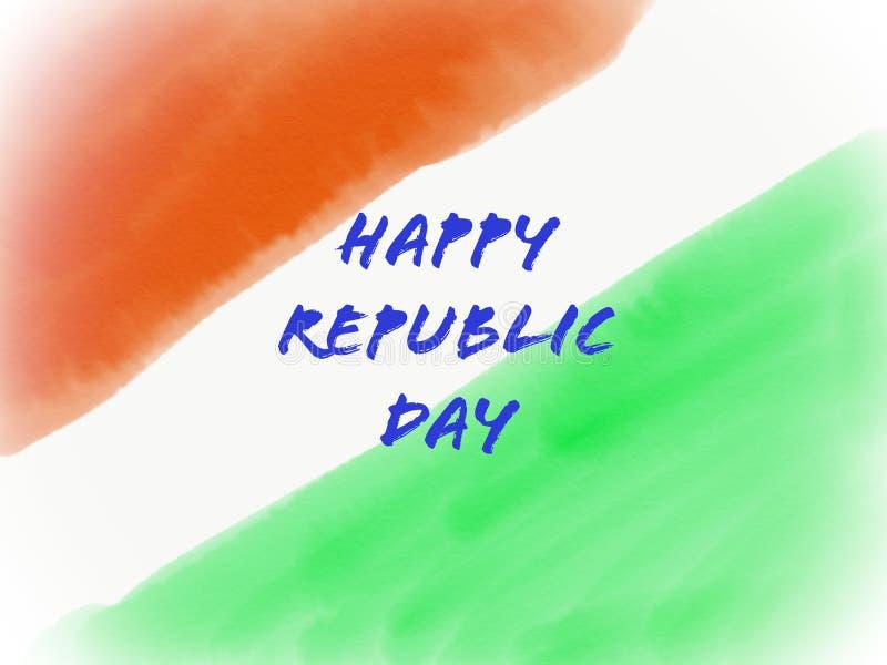 Download Indische Flagge In Der Wasserfarbbeschaffenheit Stock Abbildung - Illustration von text, grün: 106801603