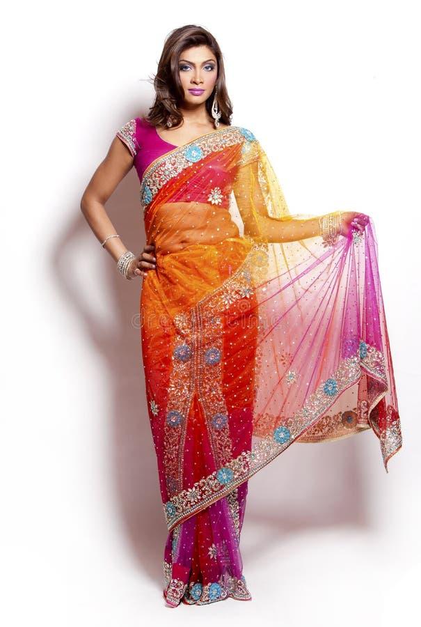 Indische Frau lizenzfreie stockbilder