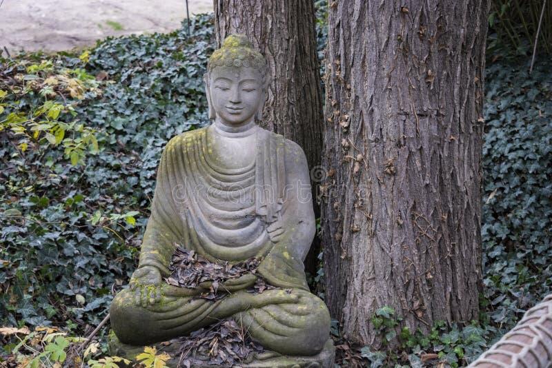 Indische Göttinskulptur stockbild