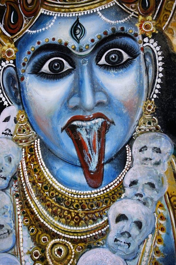 Indische Godin stock foto's