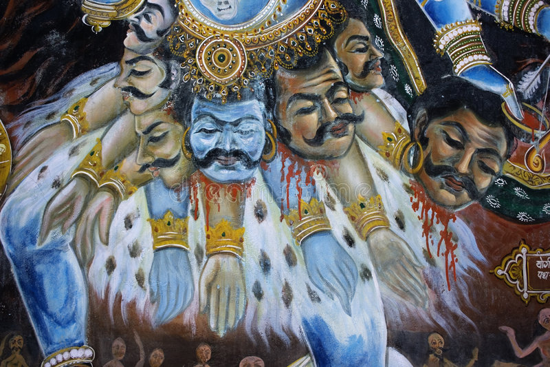 Indische Godin stock afbeeldingen
