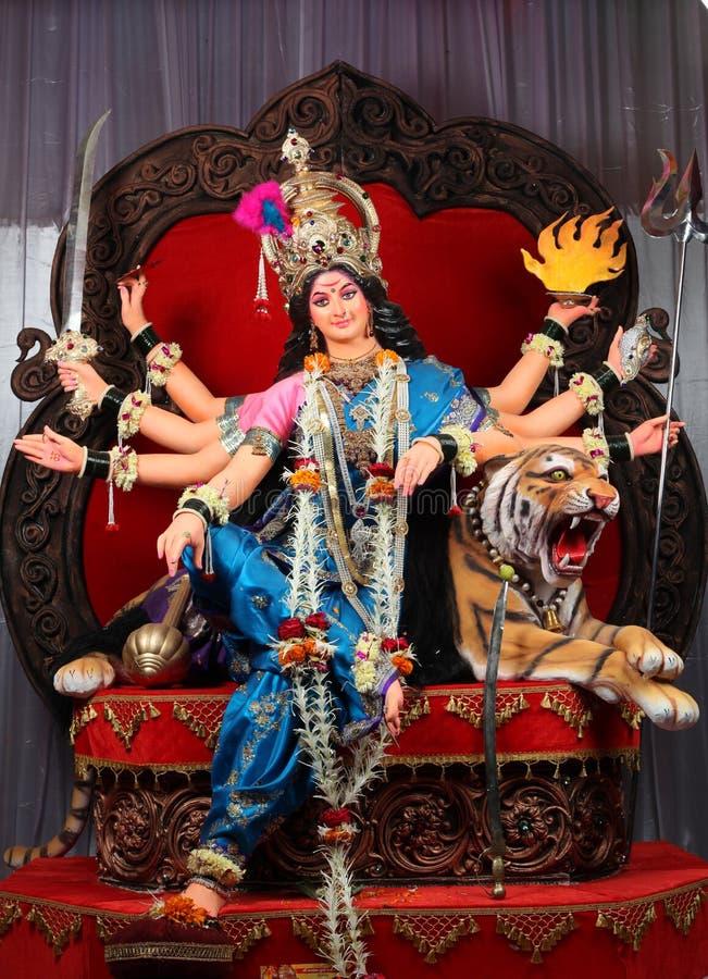 Indische godindurga royalty-vrije stock foto